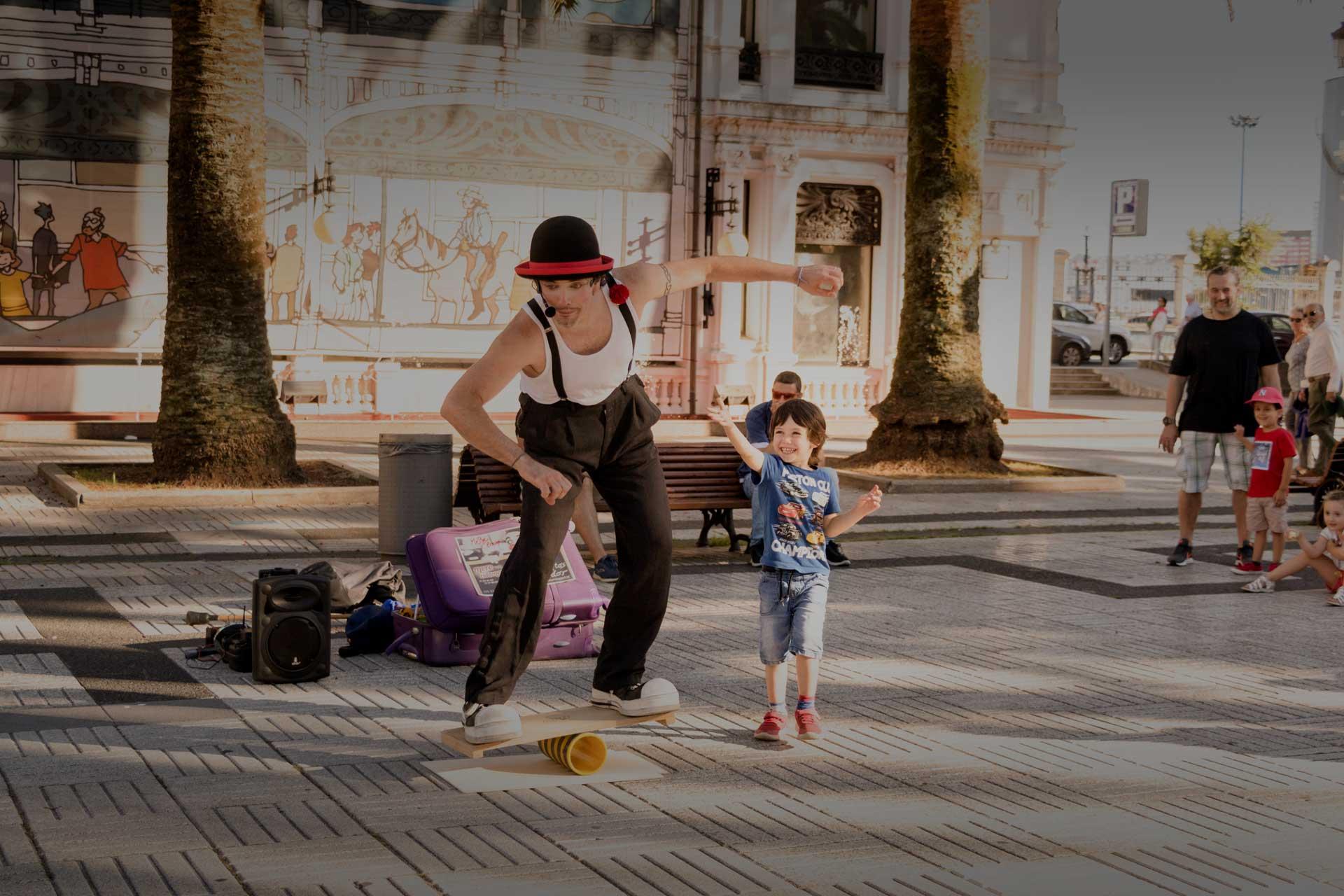 Espectáculo payaso Mere clown Galicia