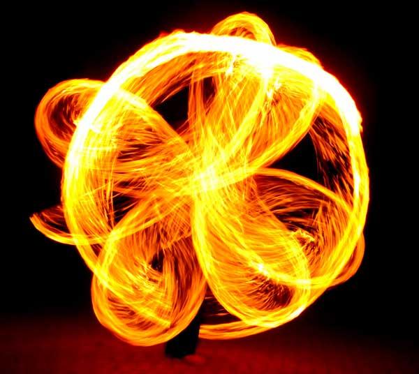 espectaculo de fuego en galicia